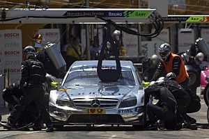 DTM Special feature Ralf Schumacher frightening pitlane accident Zandvoort 2012 - video