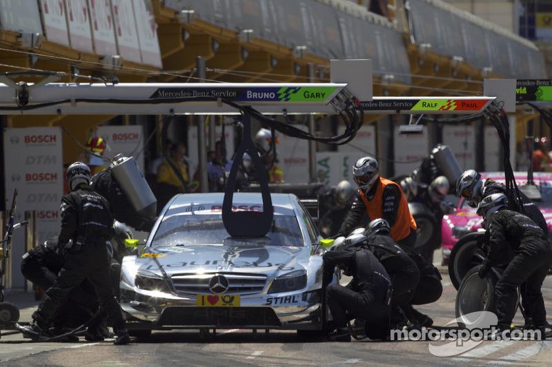 Ralf Schumacher frightening pitlane accident Zandvoort 2012 - video