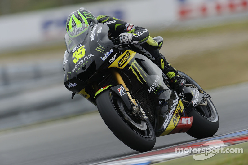 Classy Crutchlow claims stunning first MotoGP podium in Brno