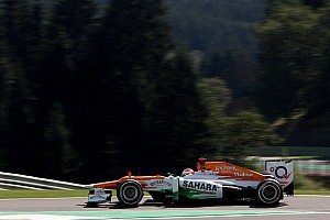 Formula 1 Qualifying report Di Resta qualified in tenth place for Belgian Grand Prix