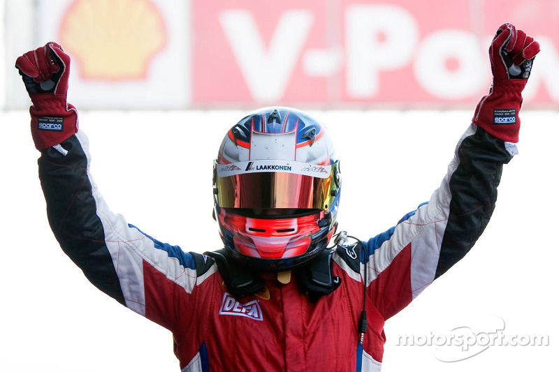 Laine victorious in thriller at Spa