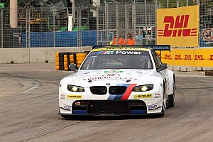ALMS Race report BMW Team RLL finishes fourth and eighth at Baltimore