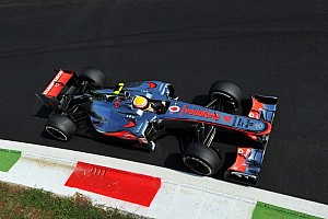 Formula 1 Practice report Hamilton pips teammate Button in Italian GP Friday practice