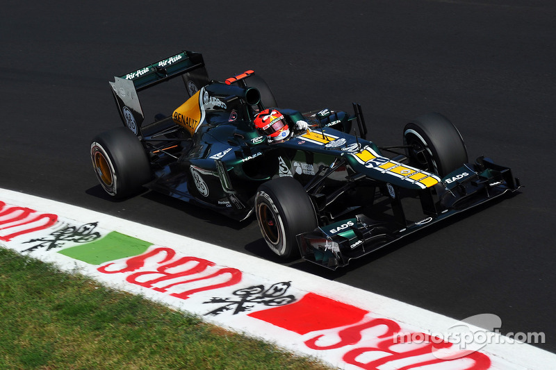 A much better Friday for Caterham on Italian GP weekend