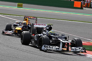 Formula 1 Race report Maldonado in 11th just behind Senna at Monza