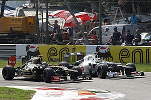 Formula 1 Race report Precious points for Lotus after difficult race at Monza