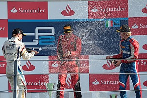 FIA F2 Race report GP2 and GP3 tyres prove crucial as series draw to a close