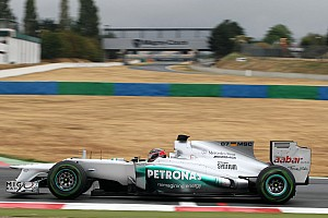 Formula 1 Testing report Hartley completes Mercedes Young Driver test at Magny-Cours