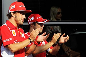 Formula 1 Rumor Ferrari should keep Massa for 2013 - Briatore