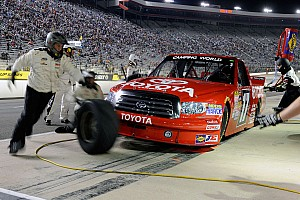 NASCAR Truck Preview On a season of improvements Peters travel to Kentucky