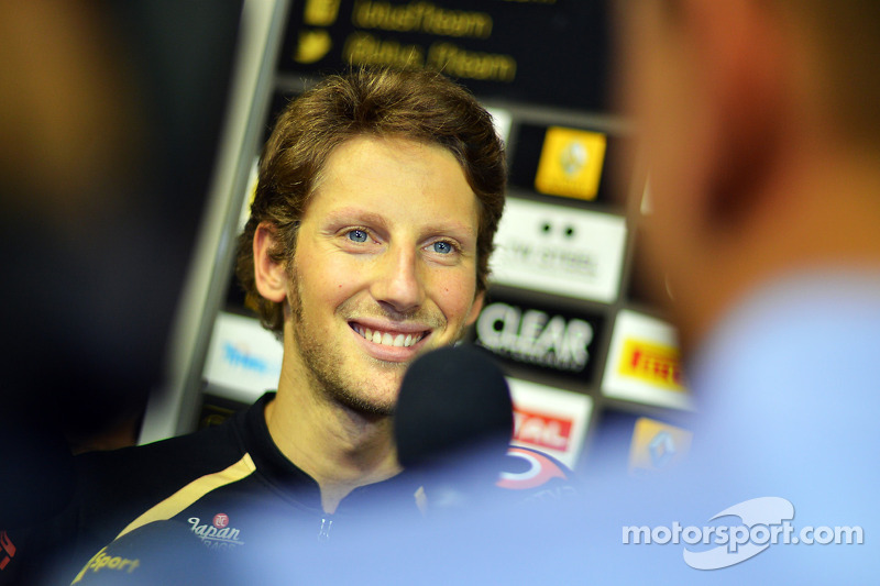 Other drivers 'not very critical' - Grosjean