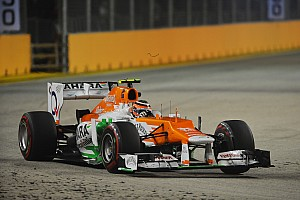 Formula 1 Practice report Sahara Force India inside the top eight in first day practice in Singapore