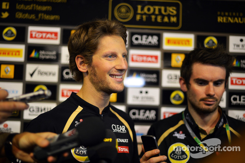 Coach helping Grosjean find 'right balance'