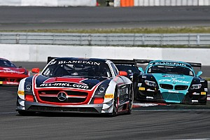 Blancpain Sprint Race report German team on leading position of the GT1 World after podium in Nurburgring