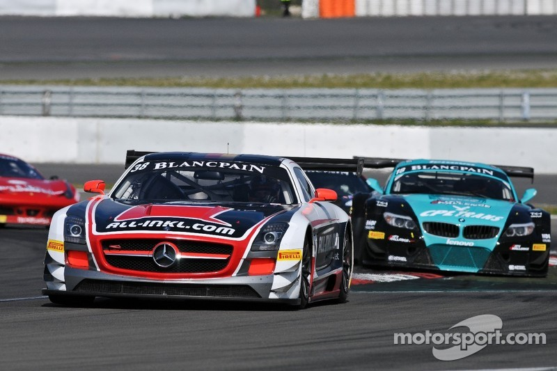 German team on leading position of the GT1 World after podium in Nurburgring