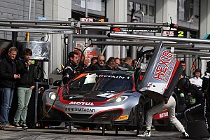 Blancpain Sprint Race report Hexis Racing experiences ups and downs at Nürburgring