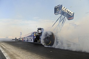 NHRA Qualifying report Brown set records at Gateway to take provisional Top Fuel pole
