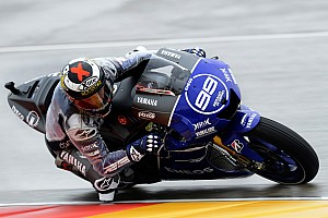 MotoGP Qualifying report Lorenzo lands on pole position at Aragon