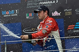 BF3 Race report Harvey takes season finale win and the 2012 Championship at Donington