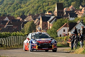 WRC Leg report Loeb takes early lead in home rally for Citroen