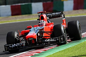 Formula 1 Qualifying report Marussia qualifying report at Suzuka