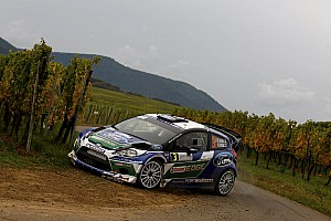 WRC Leg report Ford's Latvala secures second in France after 'best performance'