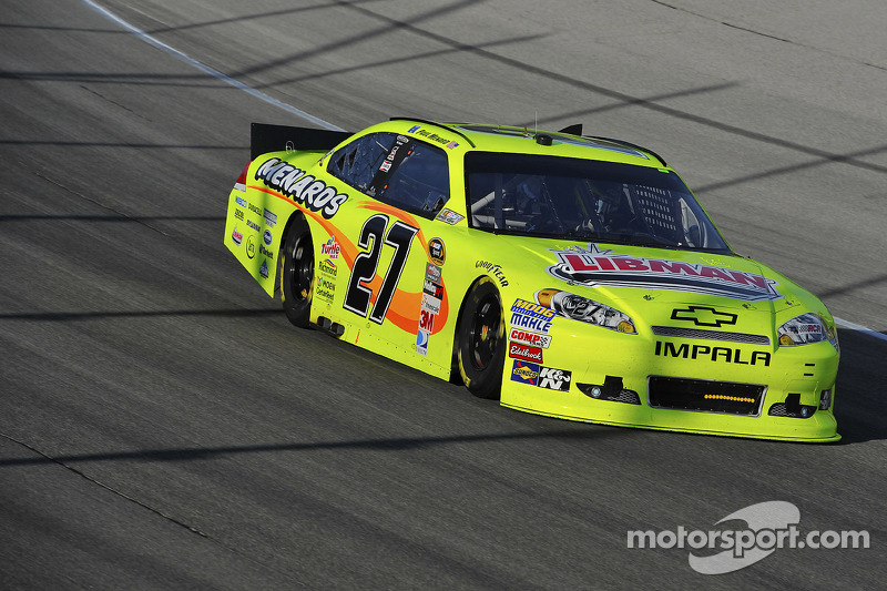 "The ""Big One"" relegates Menard to a 28th-place finish at Talladega Superspeedway"