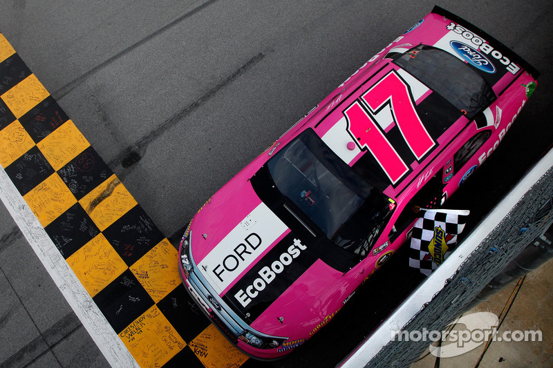 Kenseth, Fords take fresh momentum to Charlotte
