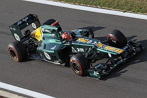 Formula 1 Practice report Friday at Yeongam for Caterham drivers