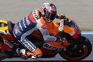 MotoGP Practice report Stoner comeback slowed with bike issues as Pedrosa leads the pack in Motegi