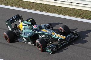 Formula 1 Qualifying report Caterham's Saturday at Yeongam