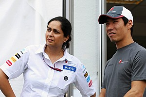 Formula 1 Special feature Interview with Sauber's team principal Monisha Kaltenborn