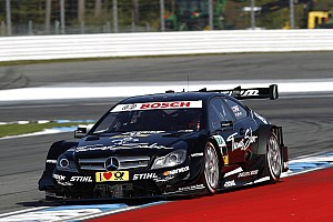DTM Qualifying report Championship leader Gary Paffett starts from front row in DTM finale at Hockenheim