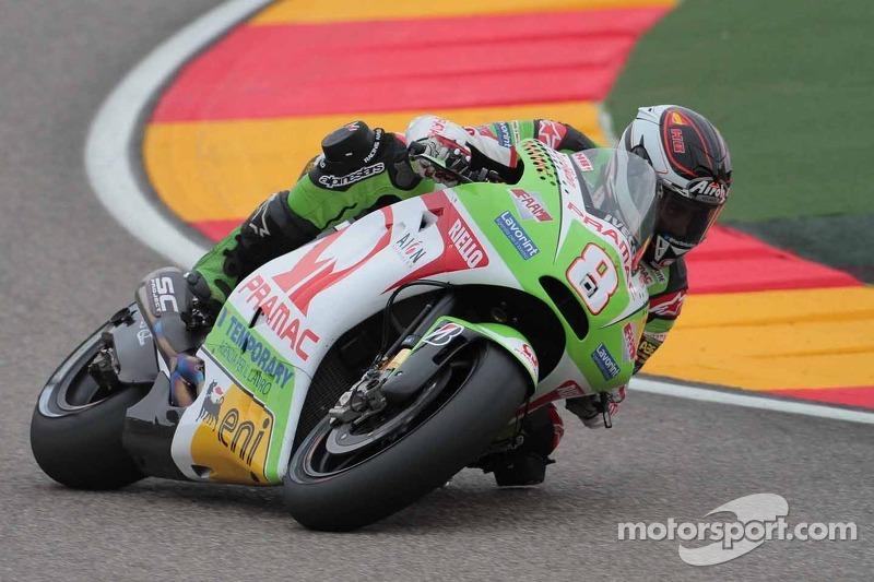 Pramac Racing's Barbera equals best result of 2012 at Sepang