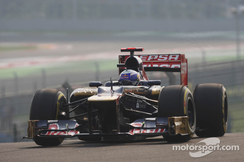 Toro Rosso lost chance to score points in India