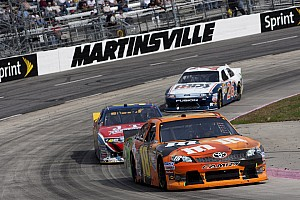 NASCAR Cup Race report Kyle Busch just misses win in Martinsville 500