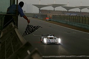 WEC Special feature Tréluyer: His final laps at Shanghai before celebrating the championship