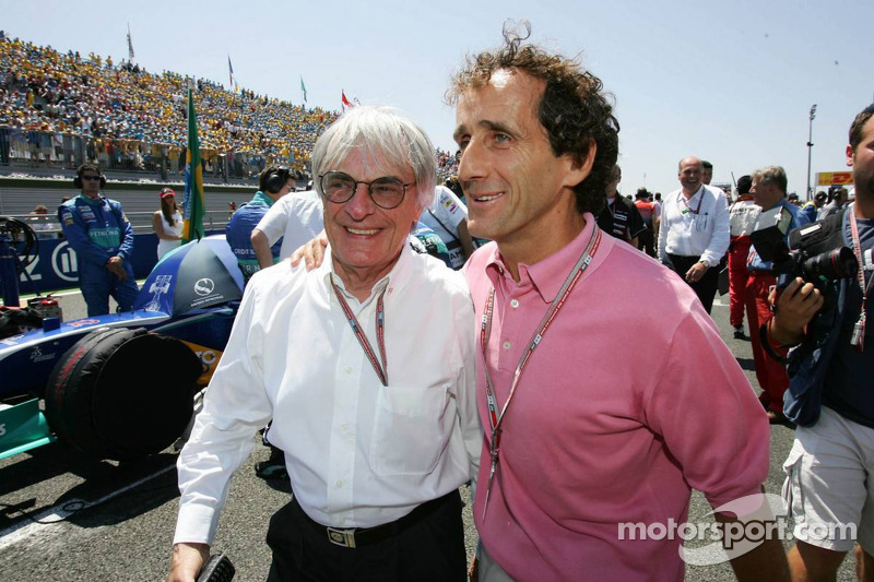 Ecclestone to meet Prost over 2013 French GP