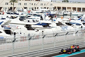 Formula 1 Practice report Red Bull need to improve overnight for tomorrow's qualifying at Yas Marina