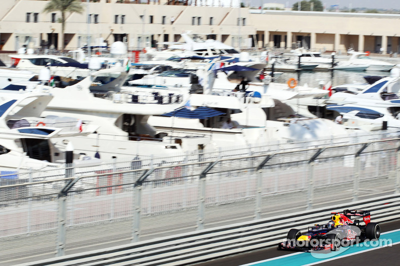 Red Bull need to improve overnight for tomorrow's qualifying at Yas Marina