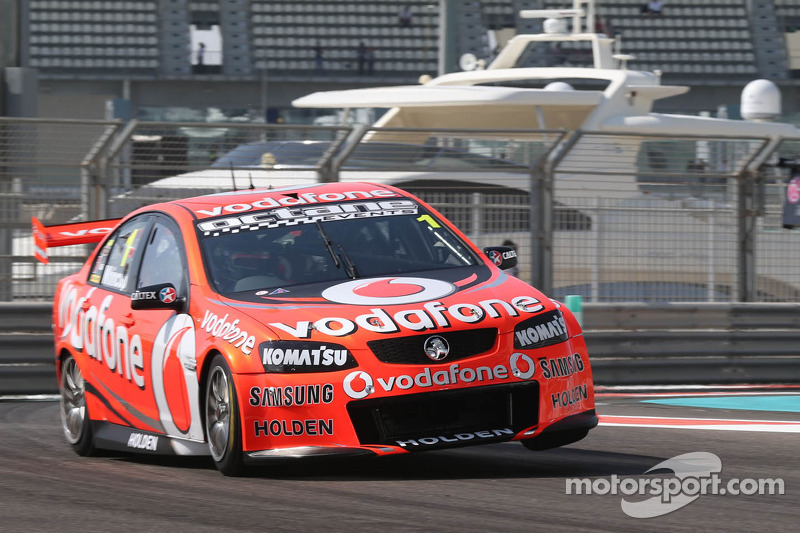 Whincup clears away to take race 1 victory in Abu Dhabi