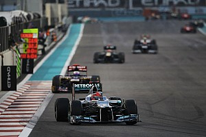 Formula 1 Race report No points for Mercedes in the dramatic Abu Dhabi GP