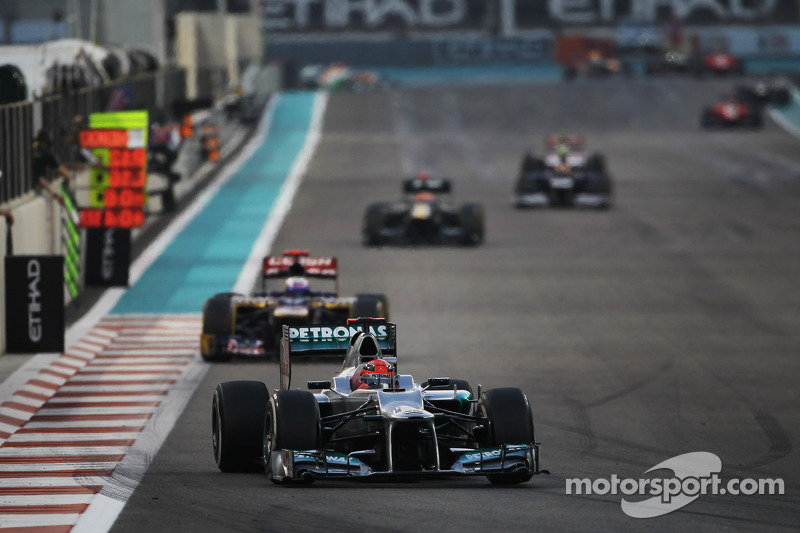 No points for Mercedes in the dramatic Abu Dhabi GP