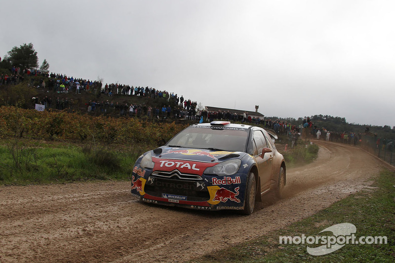 A mud bath for the Citroen DS3 WRCS in Spain