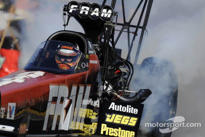 Massey,team unable to take Top Fuel crown in season finale at Pomona