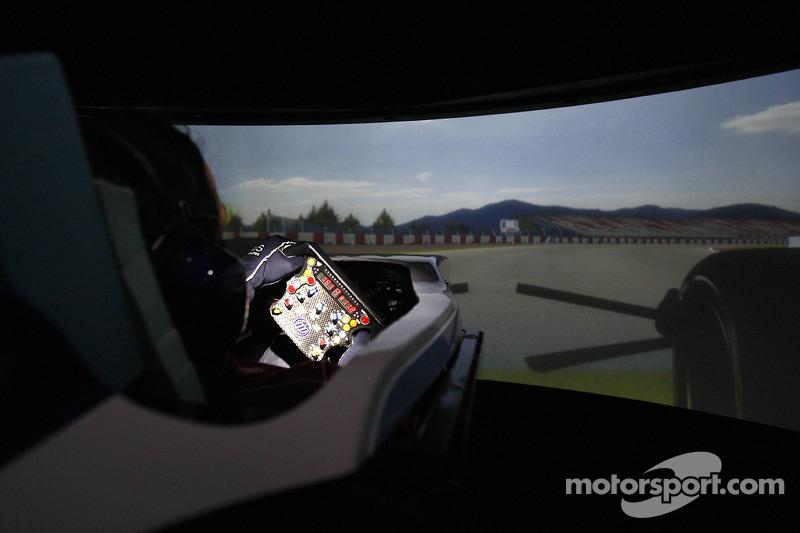 Lotus starting to use new driver simulator