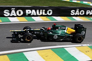 Formula 1 Practice report Caterham ready for qualifying and the race on Brazilian GP