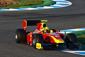 GP2 Testing report Racing Engineering conclude a productive end of season at Jerez