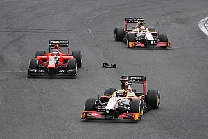 Formula 1 Race report De la Rosa and Karthikeyan across the finish line on final race of the season in Brazil