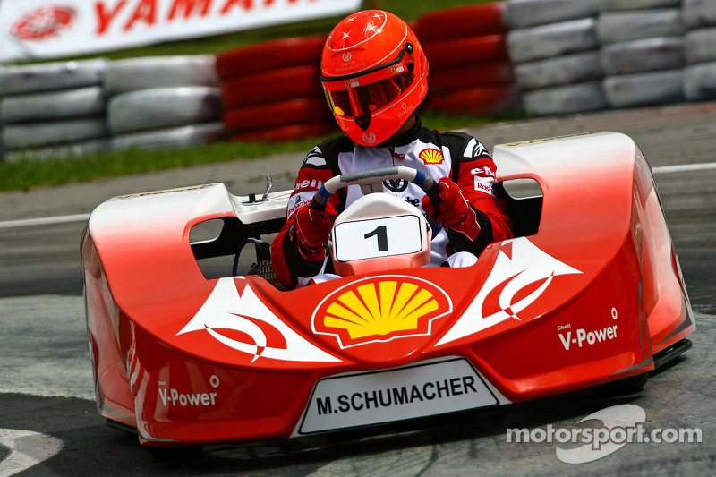 Schumacher to be karting test driver in 2013